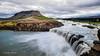 Iceland 2016 - Búrfell Mount & Þjófafoss (cesbai1) Tags: búrfell mount þjófafoss thieves falls waterfall cascade chute deau thjofafoss is islande iceland islanda islandia volcano volcan pose lente longue long exposure