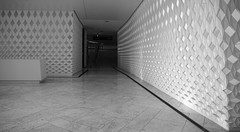 Oslo spaces (little_frank) Tags: operahouse norway architecture spaces walls door floor blackandwhite bw direction design art lines