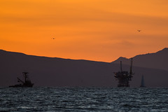Offshore (Agrestic13) Tags: pacific sailboat sailing platform rig drilling oil d850 tamron 150600 california ventura beach ocean oxnard hueneme port sunset