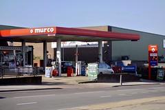 Murco, Brent Cross London. (EYBusman) Tags: murco petrol gas gasoline filling service station dollis hill edgeware road brent cross london bp mfg costcutter eybusman