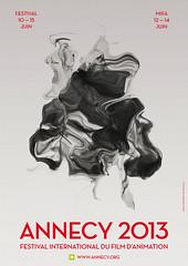 Affiche Annecy 2013  © Arthur Collin (Festival international du film d'animation-Annecy) Tags: international film animation rendezvous