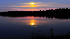 A Quiet Evening by the Lake (Bob's Digital Eye) Tags: bobsdigitaleye canon efs24mmf28stm flicker flickr h2o laquintaessenza lake lakesunsets reflections sunset sunsetsoverwater t3i water silhouette