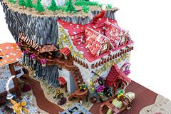 Dragonslayer's Inn (Gunman (Giorgos Solomonidis)) Tags: goh gunman lurikeen mitgardia hss aom historic landscape diorama lego