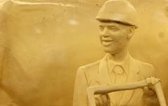 Butter sculpture 1. (Joseph Skompski) Tags: harrisburgpa harrisburg pennsylvania pafarmshow farmshow buttersculpture butter sculpture
