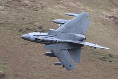 Catch of the Day (Treflyn) Tags: raf royal air force mach loop lfa7 wales fast jet panavia tornado gr4 za472 marham35 bwlch exit wings fully swept