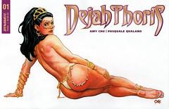 Dejah Thoris 1, cover B by Frank Cho (FranMoff) Tags: pinup nude comicbooks dejahthoris frankcho cho