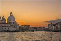 La Salute. (antoniocamero21) Tags: paisaje color foto sony canal salute la venecia italia véneto atardecer