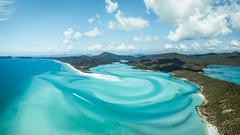 Hill Inlet (scotty-70) Tags: whitsundays dji mavic drone aerial beach water blue sand