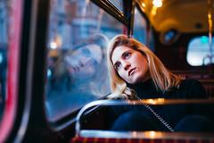 #SimplePleasures - Bus ride (Leo Hidalgo (@yompyz)) Tags: london street photography bus route master double decker red portrait trafalgar square simplepleasures