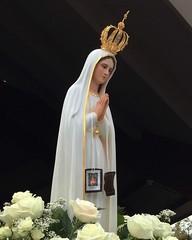 Our Lady of Fatima (Loci Lenar) Tags: ourladyoffatima catholic catholicart bluearmyshrine warrencounty nj worldapostolateoffatima statue 100yearanniversaryofourladyoffatima christianity flickr usa rss blogs news iphone6