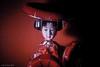 geisha doll in red (soundmoods) Tags: doll nippon geisha red traditional japan