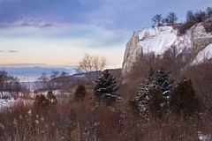 Cathedral Bluffs small (andrewpmorse) Tags: scarborough scarboroughbluffs toronto blufferspark cliffs winter snow sky trees cold christmas landscape landscapes canon leefilters leelandscapepolarizer bluffs cathedralbluffs 70200f28ii