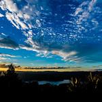 Sunset at Waikeramoana lake thumbnail