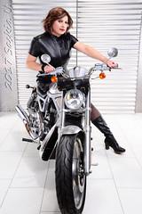 Biker Chick (Saskia U.) Tags: tgirl crossdresser makeover crossdressing service