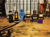 Strong Together, United Forever, (Lord Allo) Tags: lego watchmen dc comedian silk spectre doctor manhattan ozymandias niteowl rorschach