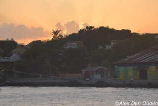 Sunfingers in the twilight at St Annabay