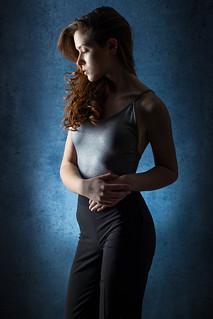 Zsuzsi Balla - blue