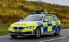 LJ17AOR (firepicx) Tags: northumbria police advanced bmw 330d xdrive emergency vehicle 999 blue lights sirens uk british northern northumberland lj17aor estate touring responding