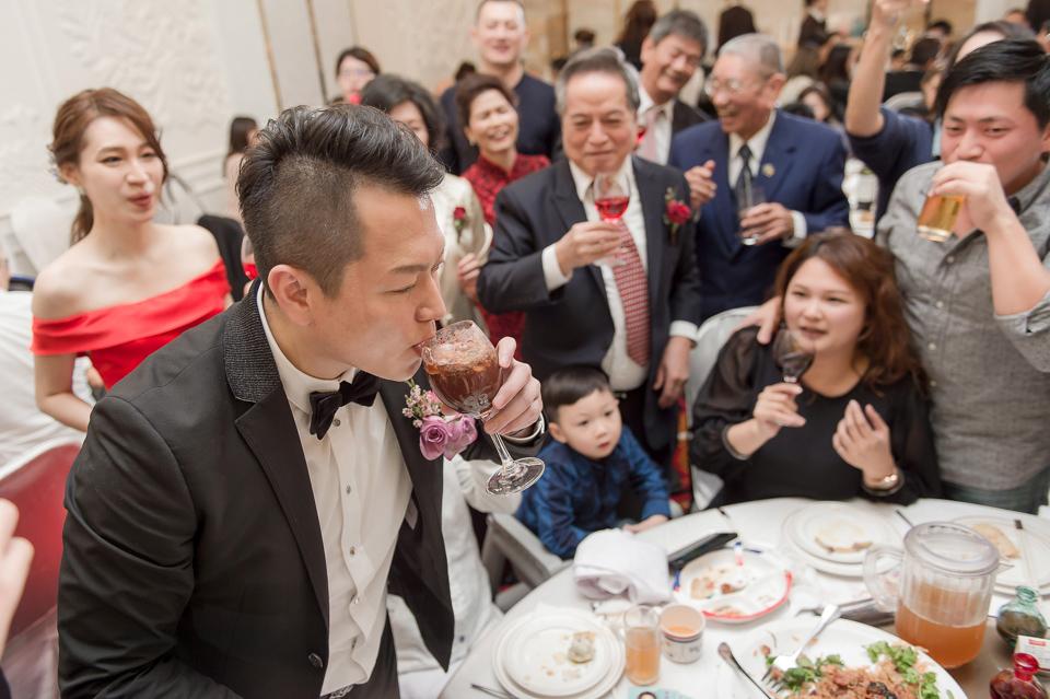 婚攝 高雄林皇宮 婚宴 時尚氣質新娘現身 S & R 161