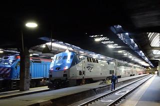 Superliner in Station