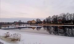 Tuesday morning walk (A blond-Tess) Tags: 365project 365days 365photochallenge photochallenge winterlandscape landscape karlstad sweden värmland klarälven river winter february colddays