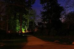 Französischer Garten in Celle. (Wallus2010) Tags: nachtaufnahme blauestunde celle französischergarten