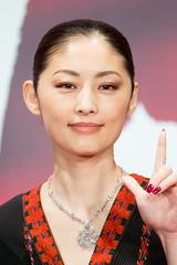 "Tokiwa Takako from ""HANAGATAMI"" at Opening Ceremony of the Tokyo International Film Festival 2017"
