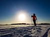 skiing on the lake Kallavesi (VisitLakeland) Tags: ski skier sport activity winter outdoor lake ice snow sun kuopio finland kallavesi järvi hiihtää hiihtäjä aurinko lumi jää sauva latu