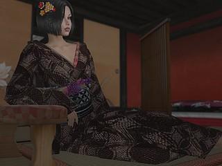Hair Ornaments & Kimono