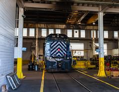 Livingston (jameshouse473) Tags: mrl livingston montana sd35 shop backshop locomotive train engine industrial