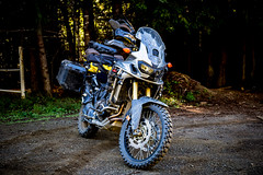 The Mighty Africa Twin (jde95tln) Tags: honda africa twin dct 2016 swmotech fishrockrd