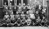 Class Photo (theirhistory) Tags: children school class form kids boys teacher jacket jumper shoes trousers wellies boots