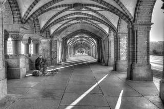 Oberbaumbrücke B&W Artistic