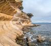 DSC_9119-Pano.jpg (David Hamments) Tags: mariaislandtrip paintedcliffs tasmania verticalpanorama austraila