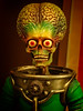 Closeup of Stop Motion Animation Alien from the film Mars Attacks 1996 (mharrsch) Tags: alien model stopmotionanimation puppet marsattacks film movie cinema sciencefiction comedy mopopmuseum seattle washington mharrsch