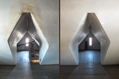 2018-01-13 Day 13/365 (clarinetgirl) Tags: 3652018 0113 alcove diptych attic