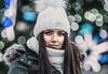 Polish girl portrait (Vagelis Pikoulas) Tags: polish girl woman portrait eyes beauty beautiful canon 6d tamron 70200mm vc bokeh krakow poland europe travel november autumn 2017 christmas lights