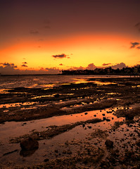 Dawn, Nassau, Bahamas (shanepinder) Tags: dawn early morning rocks coast coastline seashore rocky shore ocean sea water sky clouds horizon peaceful serene nassau bahamas newprovidence