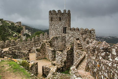 Storm is coming (Oleg S .) Tags: castle architecture ruin sintra portugal