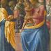 PESELLINO,1443-45 - La Vierge entre Six Anges et Deux Saints (Condé) - Detail b