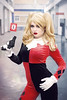 Irina - Harley Quinn (Florent Joannès) Tags: shooting shoot photo photography portrait photographie modeling mode makeup marseille hairstyle harley quinn harleyquinn dc cosplay comics 50mm 2018