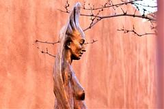 Goddess (thomasgorman1) Tags: bronze nikon goddess sun statue profile art sculpture street streetshots streetphotos public gallery woman