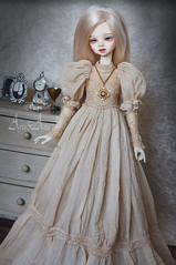 Edwardian Smooth (AyuAna) Tags: bjd ball jointed doll dollfie ayuana design minidesign handmade ooak clothing clothes dress set outfit fashion couture historical victorian edwardian style slim msd mnf minifee fairyland size dim dollinmind benetia hybrid withdoll body