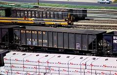 CB&Q Class HT-13D 161438 (Chuck Zeiler) Tags: cbq class ht13d 161438 burlington railroad hopper freight car cicero train chuckzeiler chz np 57515