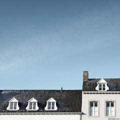 Rooftops & Blue Sky