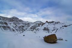 Winter in the Alberta Badlands (Len Langevin) Tags: winter winterscape snow badlands alberta canada landscape nikon d7100 tokina 1224