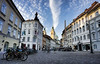 Lubiana (Bariom) Tags: lubiana cityshot sky building place travel europe slovenia niceshot cluods nuvole europa oldcity