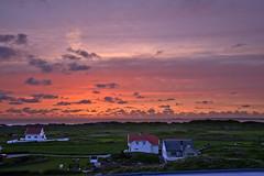 Kvitsøy sunset (Svein K. Bertheussen) Tags: kvitsøy ystebøhavn rogaland norge norway solnedgang sunset hav sea kveldshimmel eveningsky skyer clouds