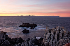 Sunrise over Walker Bay - Hermanus - South Africa 2017 (Wilma v H- Best wishes for a wonderful 2019) Tags: walkerbay hermanus westerncape southafrica2017 southafrica 2017 weskaap atlanticocean ocean sea gansbaai sunrise dawn crackofdawn canoneos60d tokinaatx1228f4prodx rocks sandstone waterscapes coastal landscape luminositymasks tkactionsv5v6panel skies holiday travel gearingpointhermanus longexposure le
