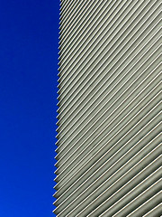 IS/IT   ©2018r hahs (rhahs) Tags: information systems technology ©rhahs blue sky stripes computers ny us white art new bright tech lines geometric light electricblue newyork design abstract skyline metal it is